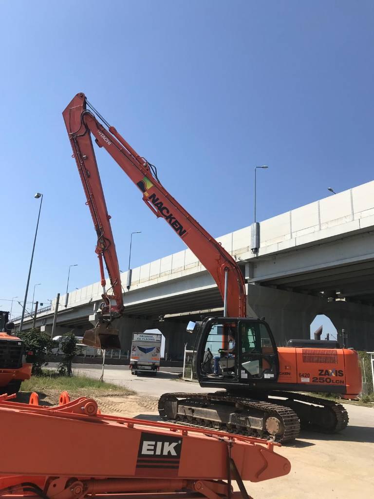 Hitachi HITACHI-ZX250LCN-5A- Lang arm 18m, tilt bucket, Long / High Reach excavators, Construction Equipment