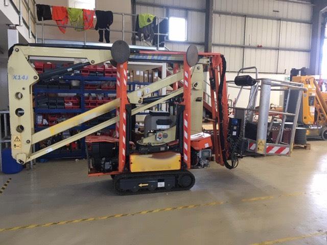 JLG X14J, Articulated boom lifts, Construction