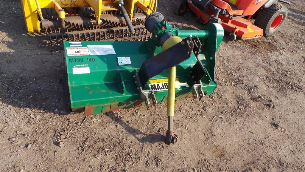 Major MT22-140 Mulcher, Mowers, Agriculture