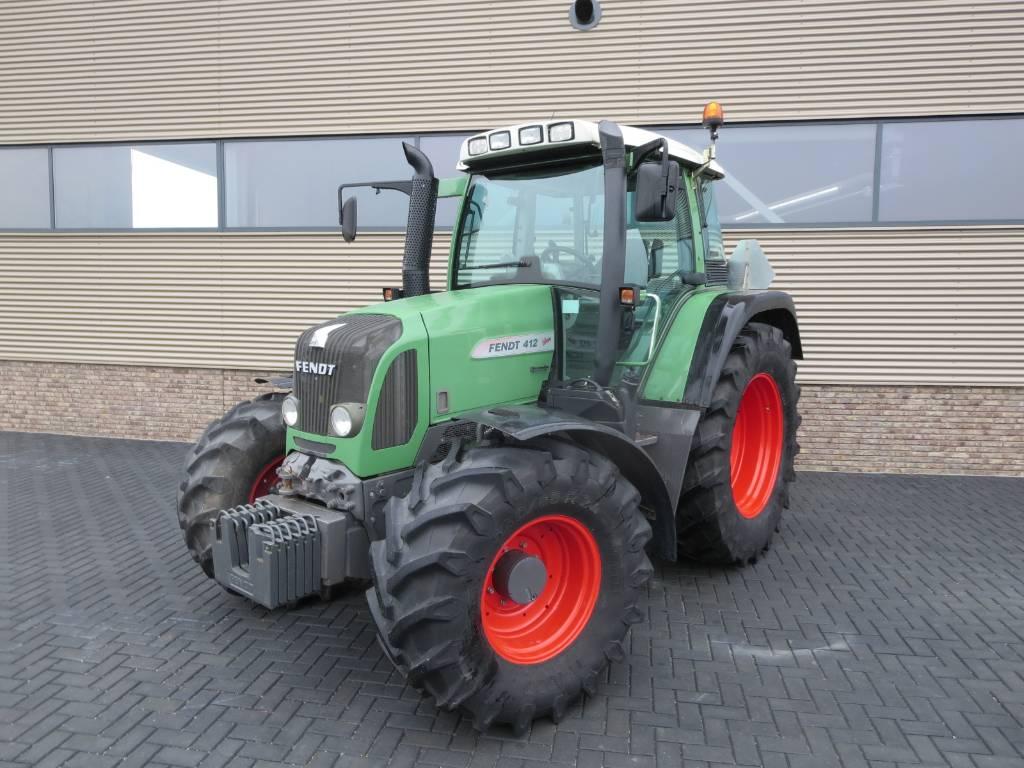 Fendt 412 vario com3, Tractoren, Landbouw