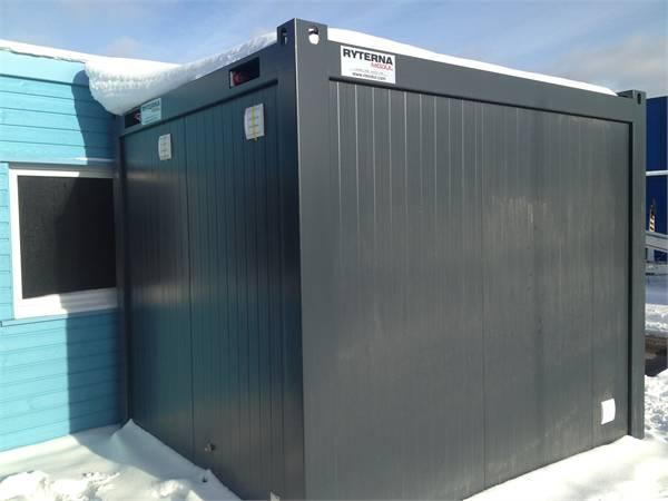 [Other] Ryterna Sanitetsmodul 10 fot, Specialcontainers, Transportfordon