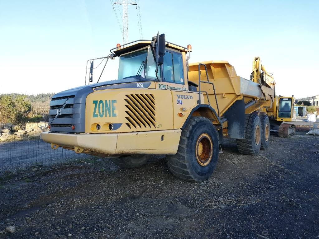 Volvo A 25 E, Articulated Dump Trucks (ADTs), Construction Equipment