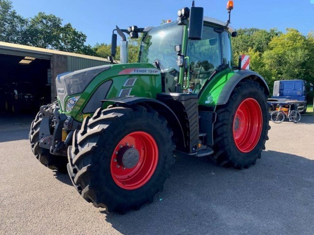 Fendt 724 S4 Profi Plus, Tractors, Agriculture