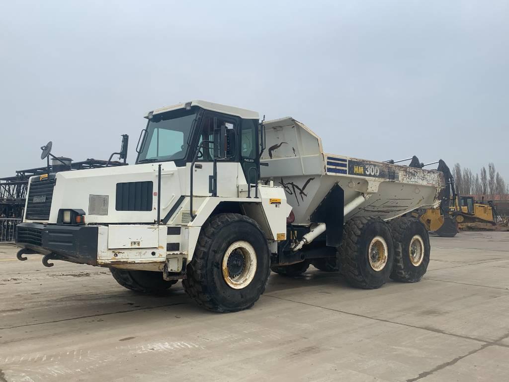 Komatsu HM300-1, Articulated Dump Trucks (ADTs), Construction