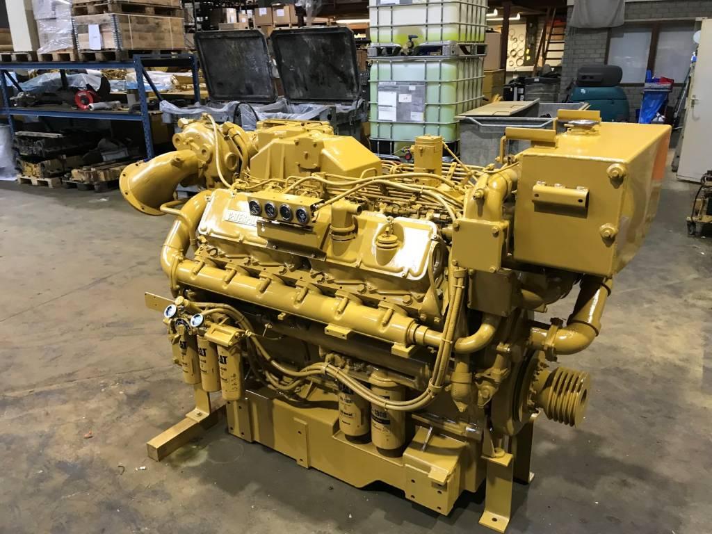 Caterpillar 3412 - Marine Auxiliary Engine 620 kW - DPH 105108, Marine auxiliary engines, Construction