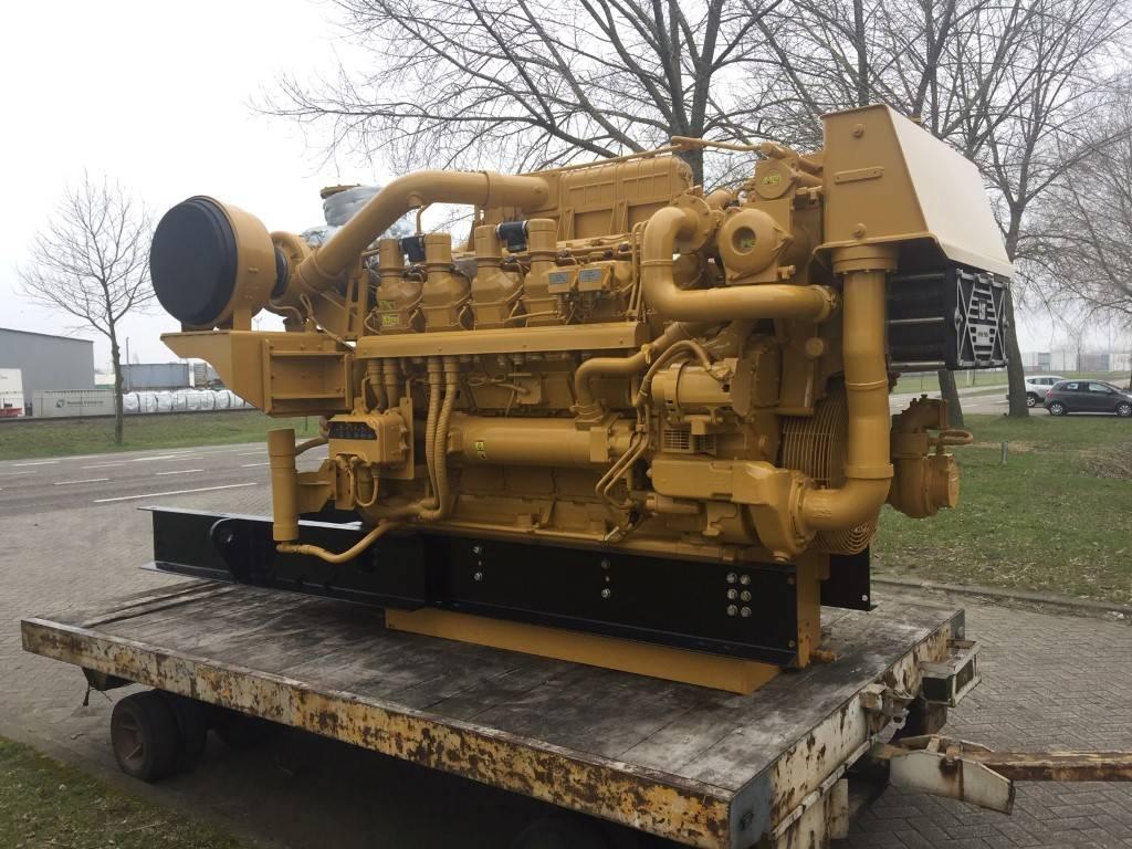Caterpillar 3512 C - SLM, Marine auxiliary engines, Construction