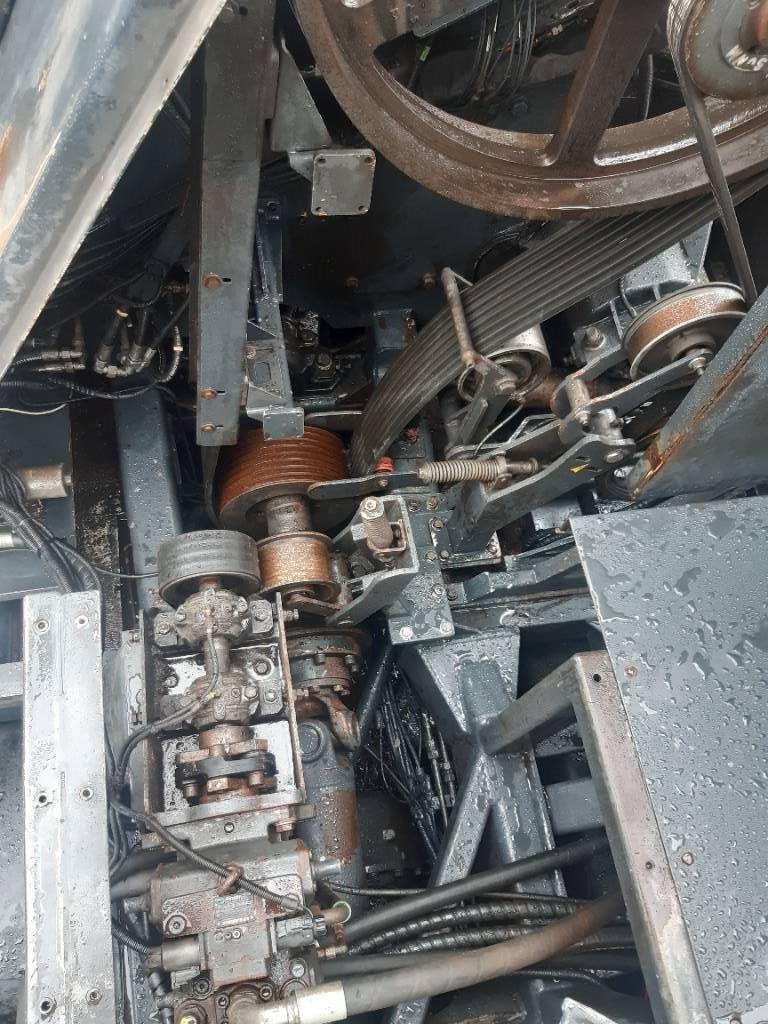 Jenz HEM 820 R, Flishuggar, Skogsmaskiner