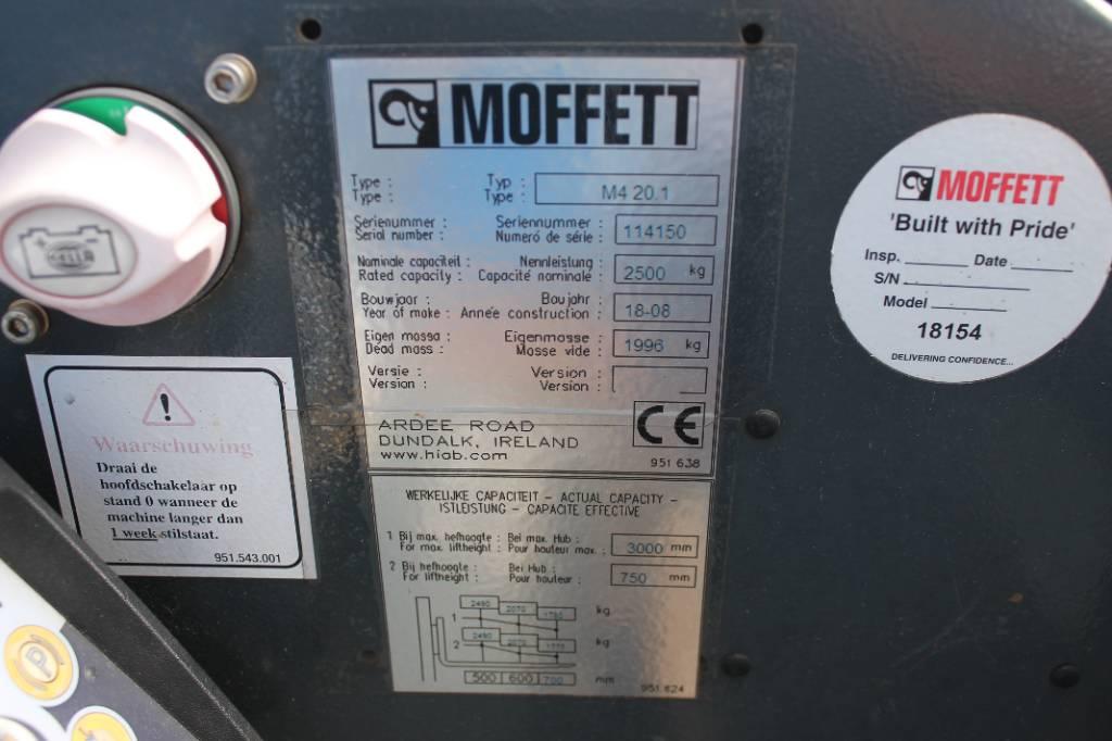 Moffett M4 20.1, Ajoneuvotrukit, Kuljetuskalusto