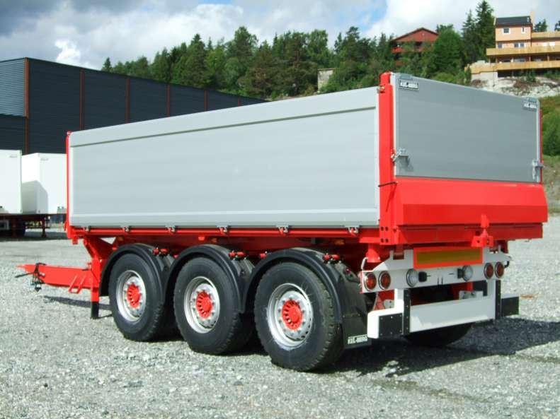 Kel-Berg T790 3 veis tipp m Hardox bunn, Andre hengere, Transport