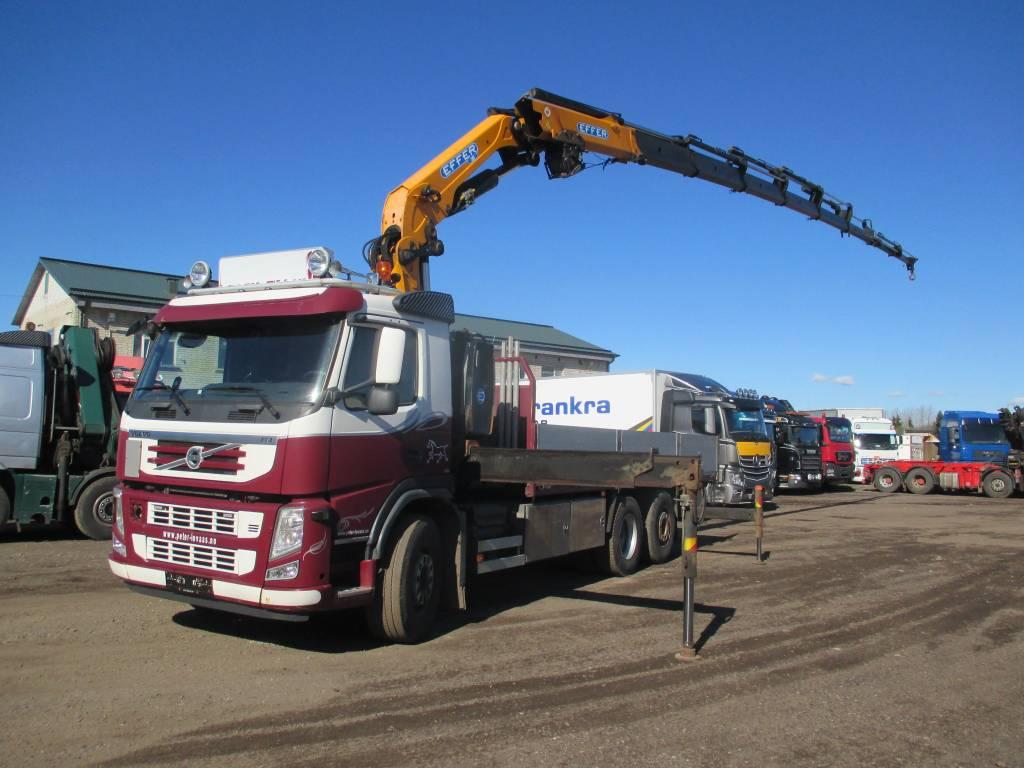 Volvo FM 420HP EFFER 305, Boom / Crane / Bucket Trucks, Trucks and Trailers