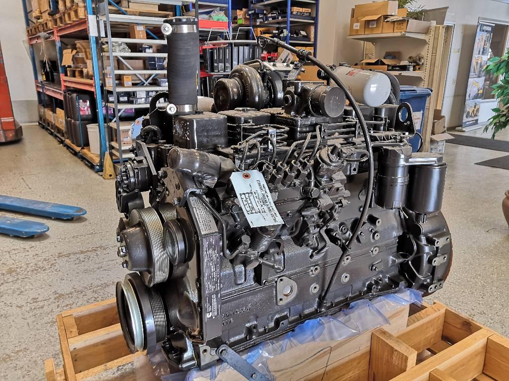 Cummins moottori B5.9, Moottorit, Maarakennus