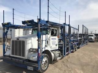 9869 Peterbilt 365, Car Haulers, Trucks and Trailers