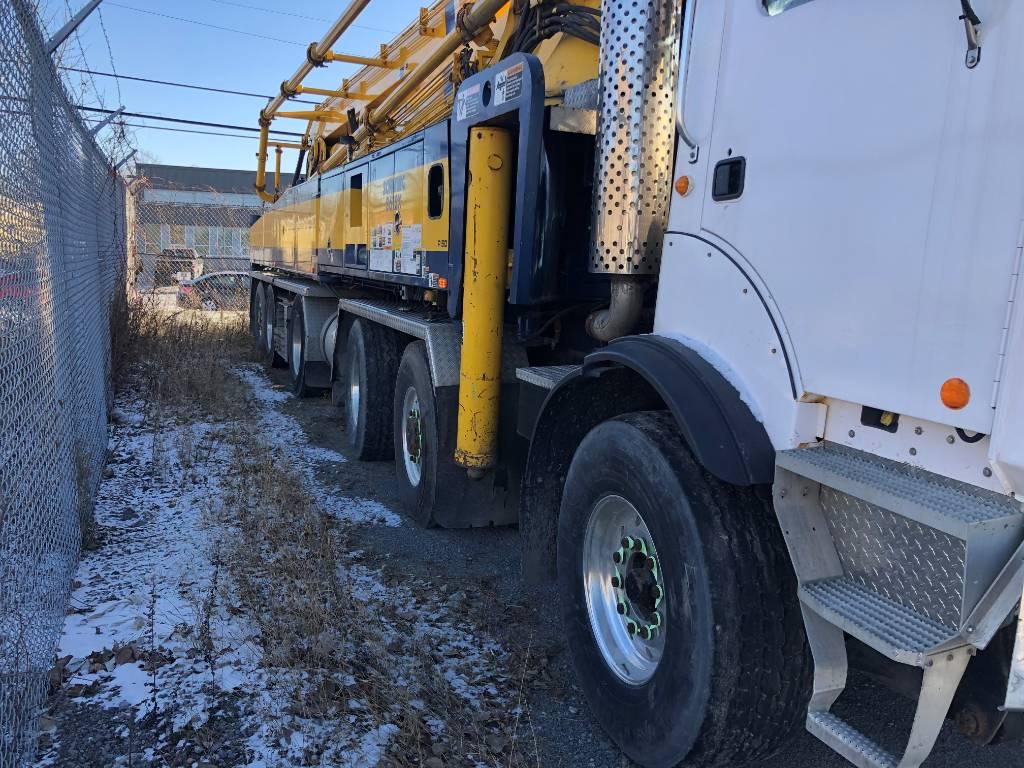 Schwing 61M, Boom Pumps, Construction Equipment