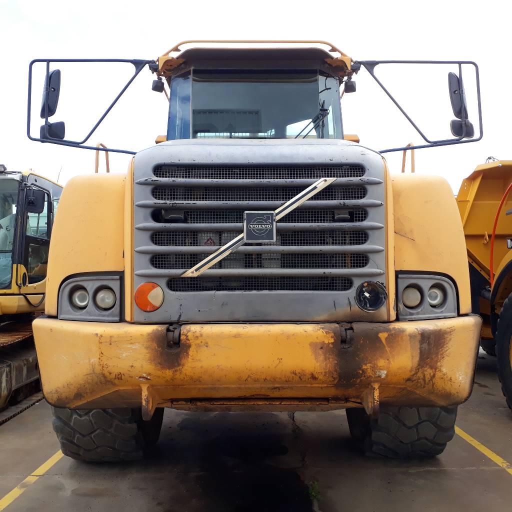 Volvo A 40 D, Articulated Dump Trucks (ADTs), Construction Equipment