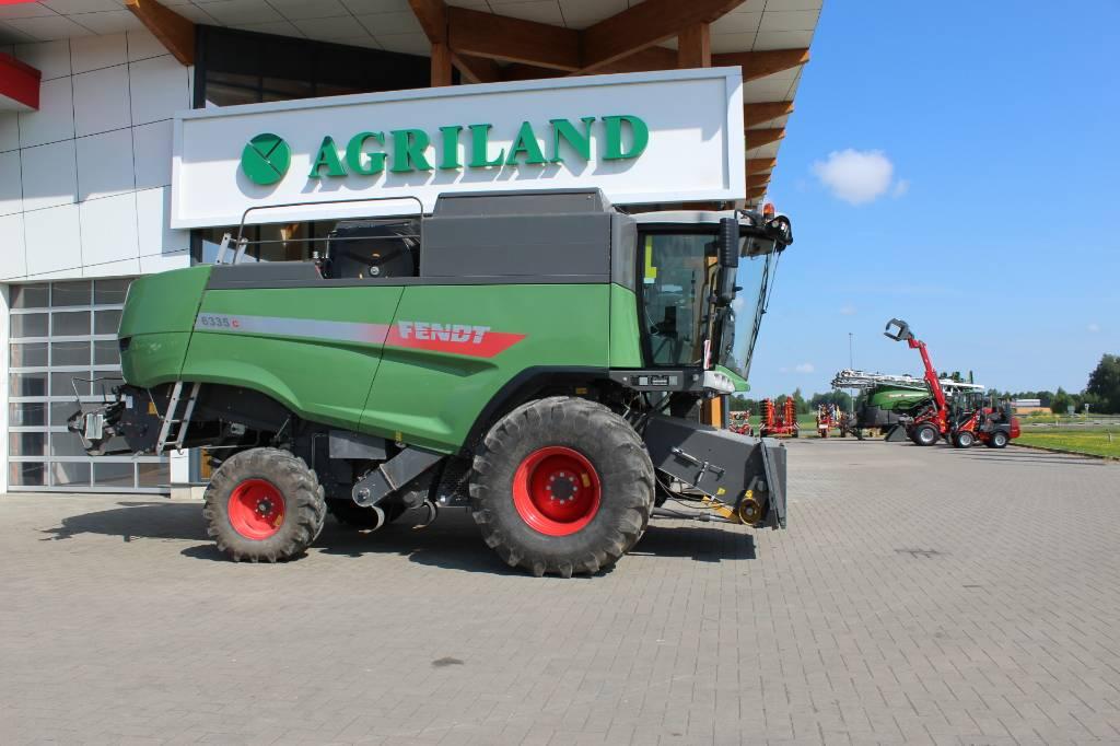 Fendt 6335 C, Kombainid, Põllumajandus