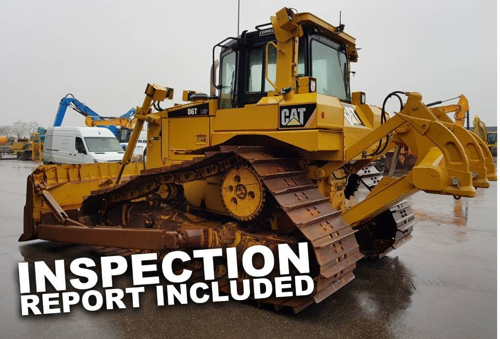 Caterpillar D 6 T LGP, Dozers, Construction Equipment