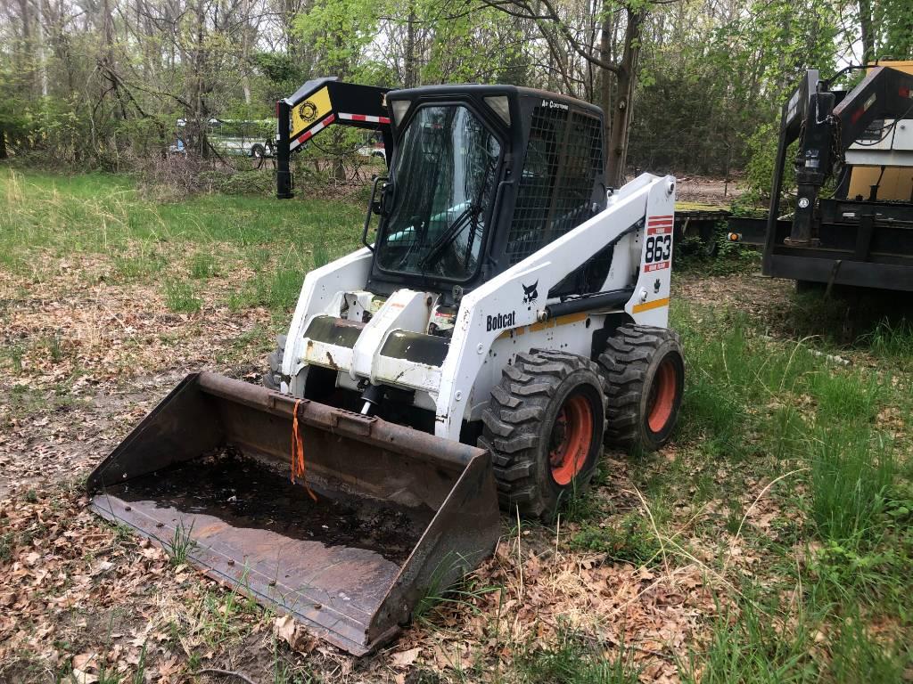 Bobcat 863, Skid Steer Loaders, Construction Equipment
