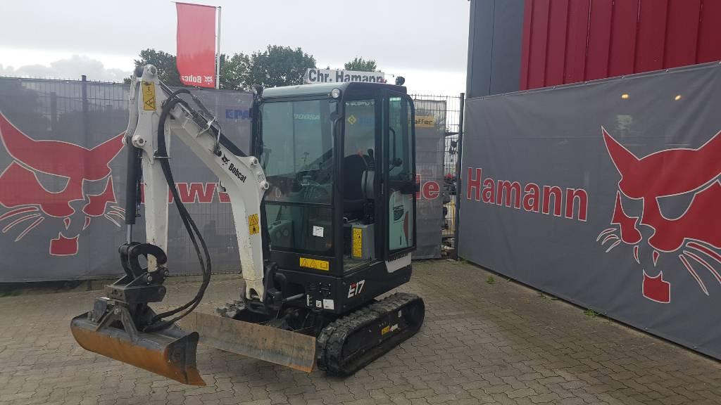 Bobcat E 17, Mini digger, Construction Equipment