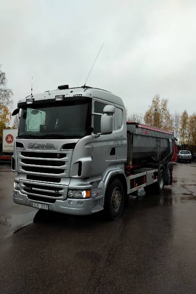 Scania R 560 LB, Tippbilar, Transportfordon