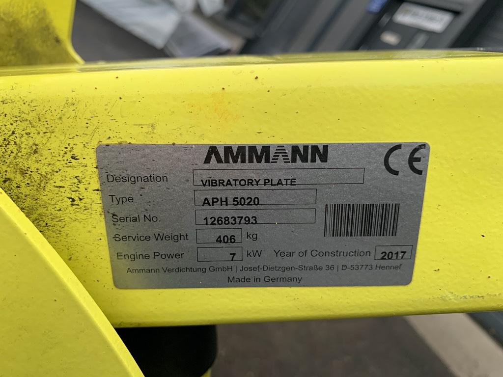 Ammann APH 5020, Muut jyrät, Maarakennus