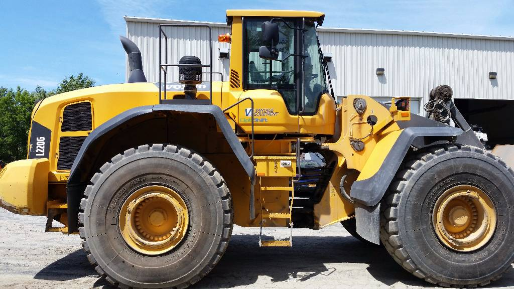 Volvo L220G, Wheel Loaders, Construction Equipment