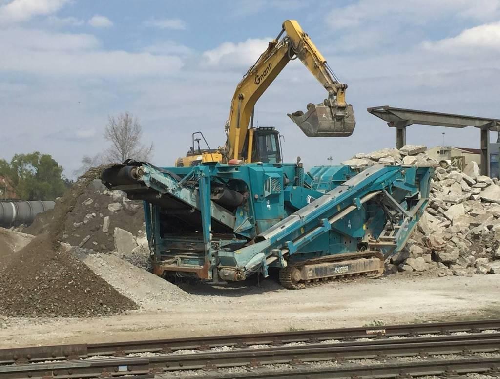 Terex Pegson XH320SR, Crushers, Construction Equipment