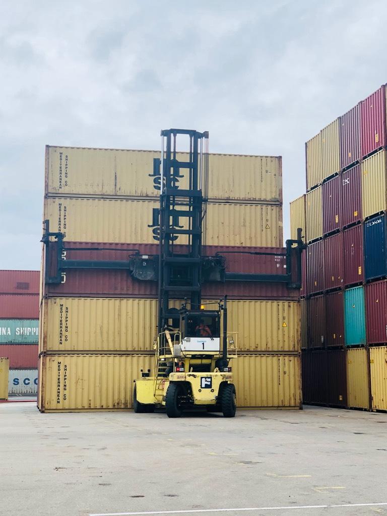 Fantuzzi FDC 25 K7 DB, Konecranes container forklifts, Material Handling