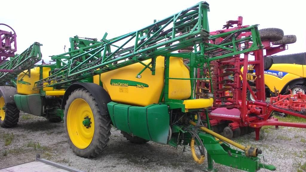 John Deere 740i, Haagispritsid, Põllumajandus