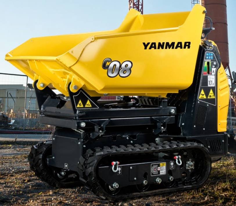 Yanmar C08 Raupendumper, Raupendumper, Baumaschinen