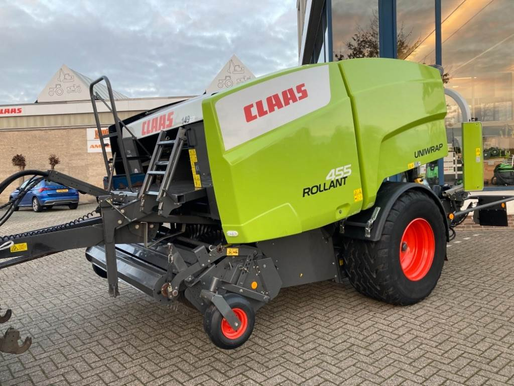CLAAS Rollant uniwrap 455, Round Balers, Agriculture