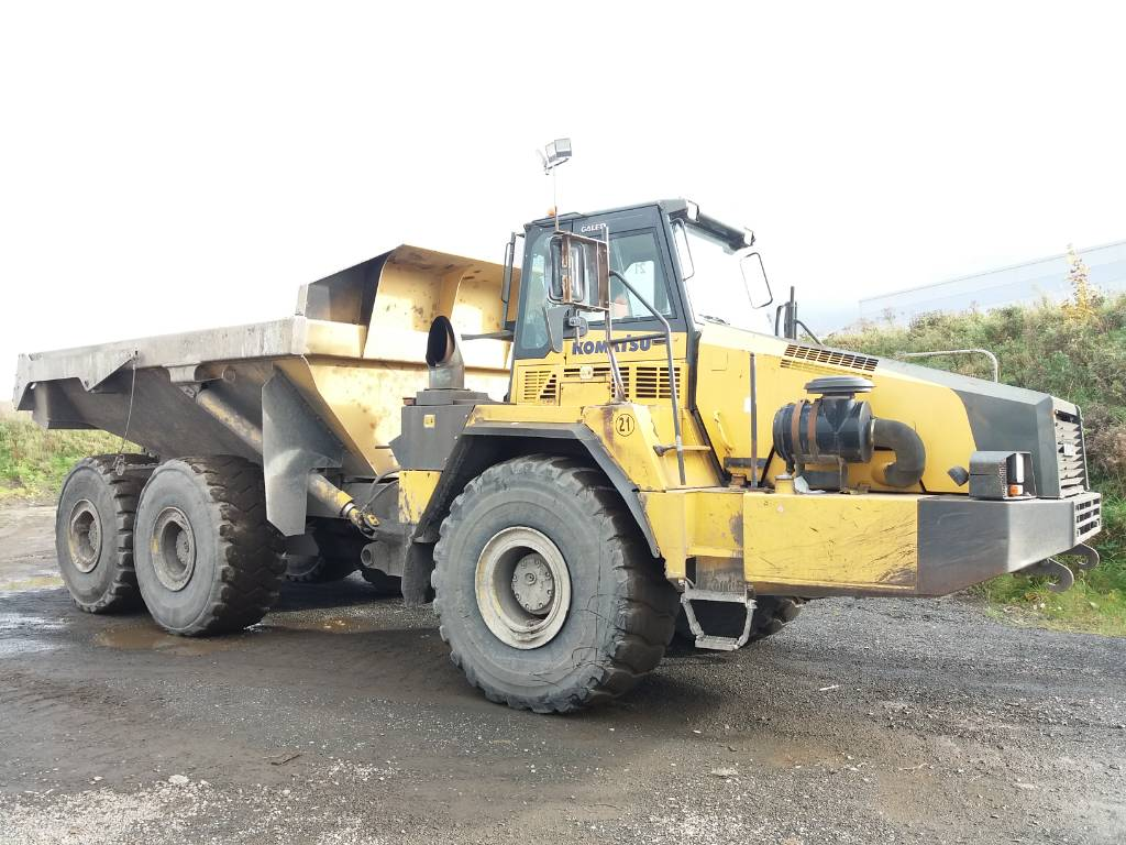 Komatsu HM400-2, Articulated dump trucks, Construction Equipment