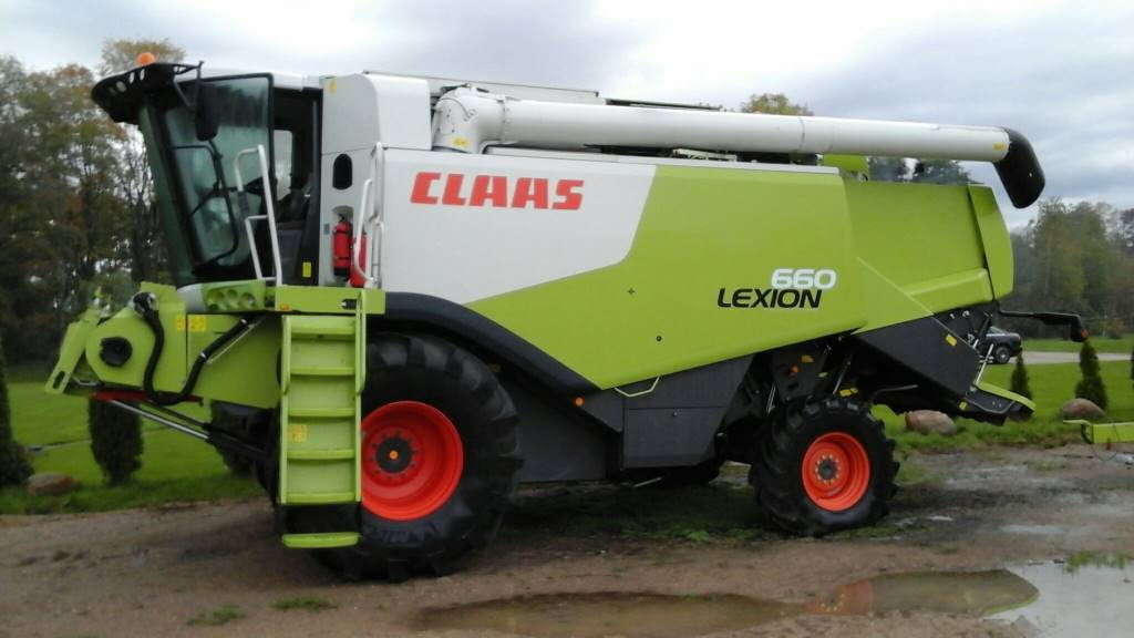CLAAS Lexion 660, Combine harvesters, Agriculture