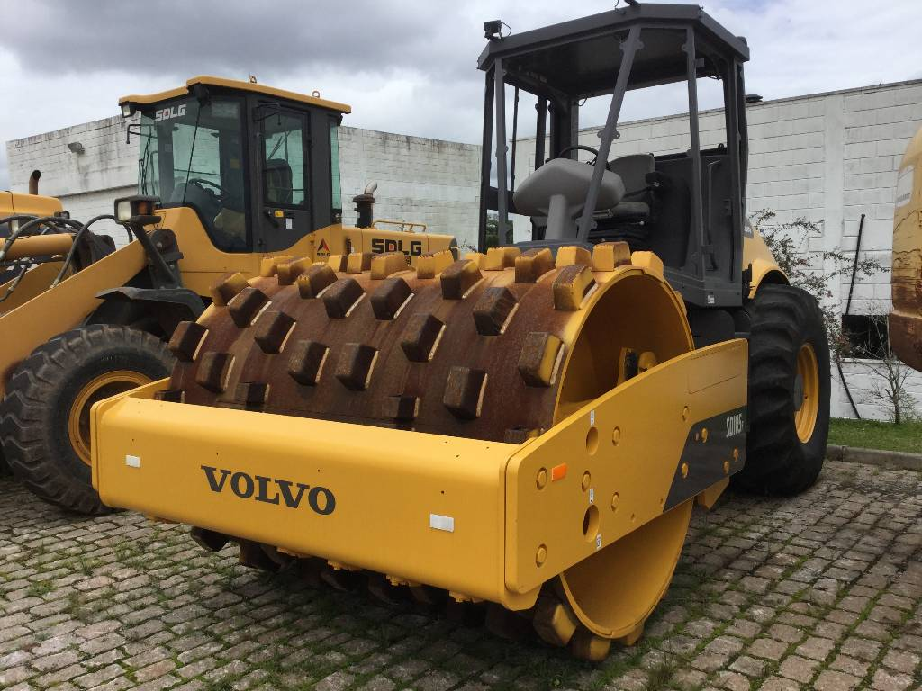 Volvo SD105, Soil Compactors, Construction Equipment