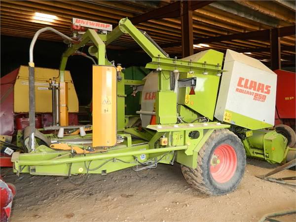 CLAAS Rollant 250 Uniwrap, Preses, Lauksaimniecība