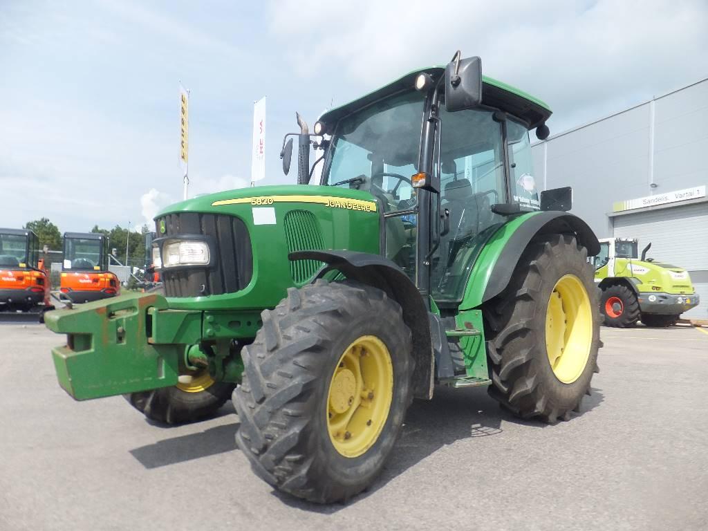 John Deere 5820, Traktorid, Põllumajandus