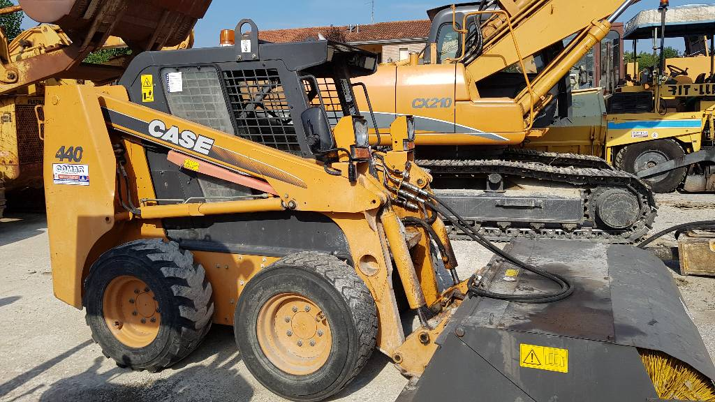 CASE 440, Skid Steer Loaders, Construction Equipment