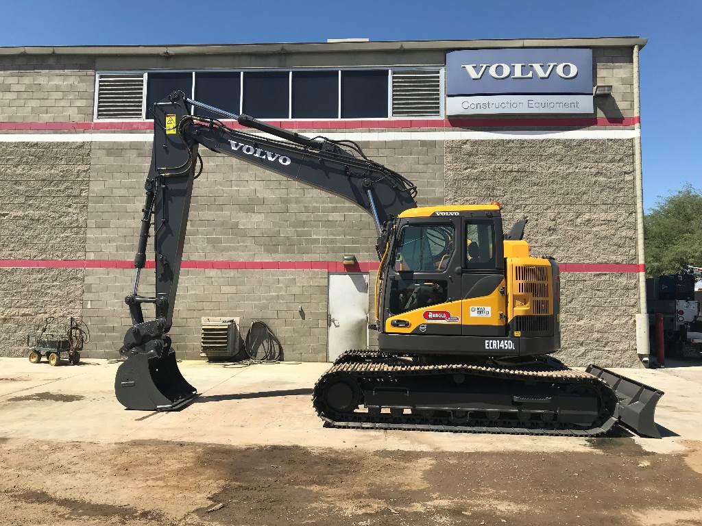 Volvo ECR145DL, Crawler Excavators, Construction Equipment
