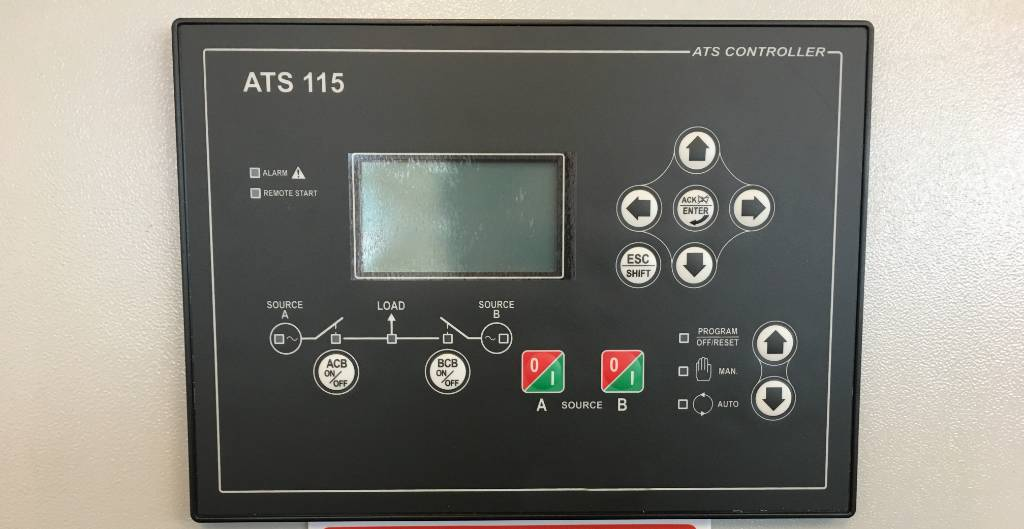 ATS Panel 250A - Max 175 kVA - DPX-27506, Anders, Bouw