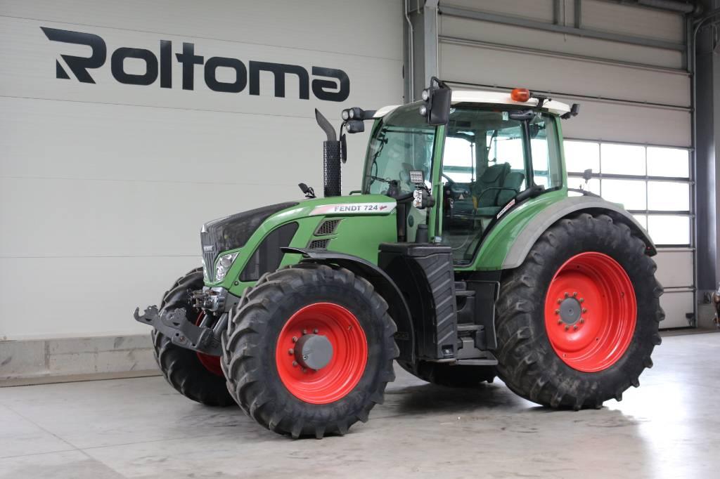 Fendt 724 Profi Plus, Traktory, Maszyny rolnicze