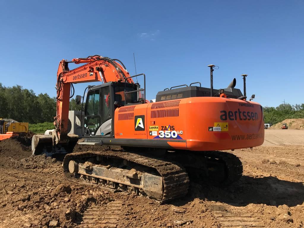 Hitachi ZX 350 LC-6, Crawler excavators, Construction