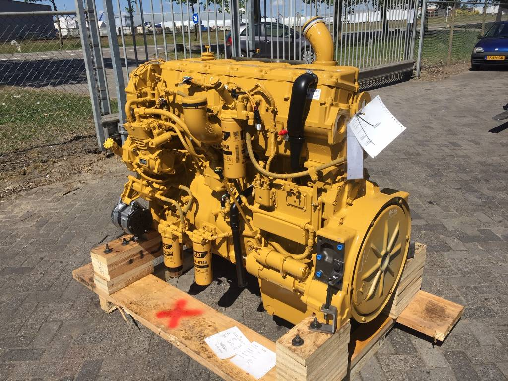 Caterpillar - Surplus - C15 ACERT - Industrial Engine - 403 kW, Industrial Applications, Construction