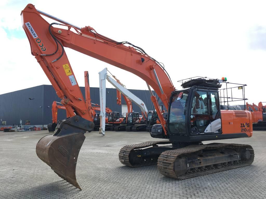 Hitachi ZX210LC-5B, Crawler Excavators, Construction Equipment