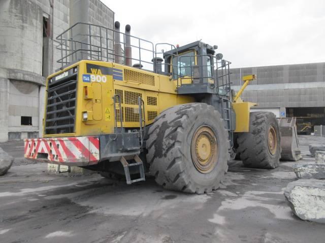 Komatsu WA900-3EO, Chargeuse sur pneus, Travaux Publics
