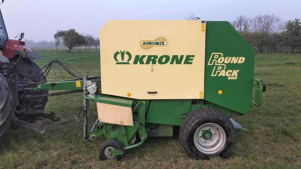 Krone Round Pack 1250, Prasy zwijające, Maszyny rolnicze