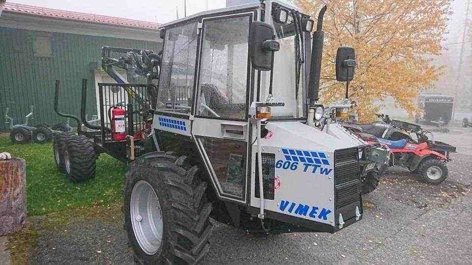 Vimek 606TT W, Skotare, Skogsmaskiner
