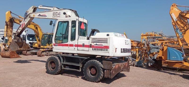 Liebherr 904, Wheeled Excavators, Construction Equipment