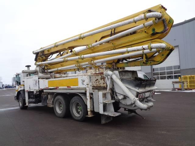 Putzmeister BSF 36.12L, Boom Pumps, Construction Equipment