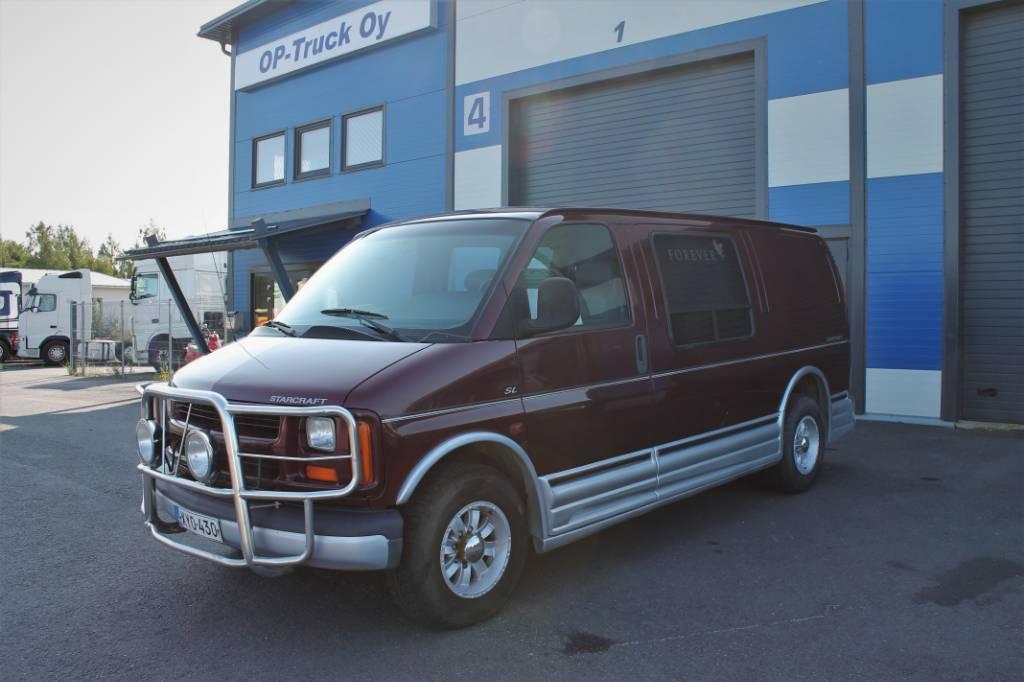 Chevrolet Starcraft 6.5TD SL Van A, Muut kuorma-autot, Kuljetuskalusto