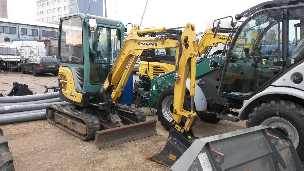 Yanmar SV22, Mini excavators < 7t (Mini diggers), Construction