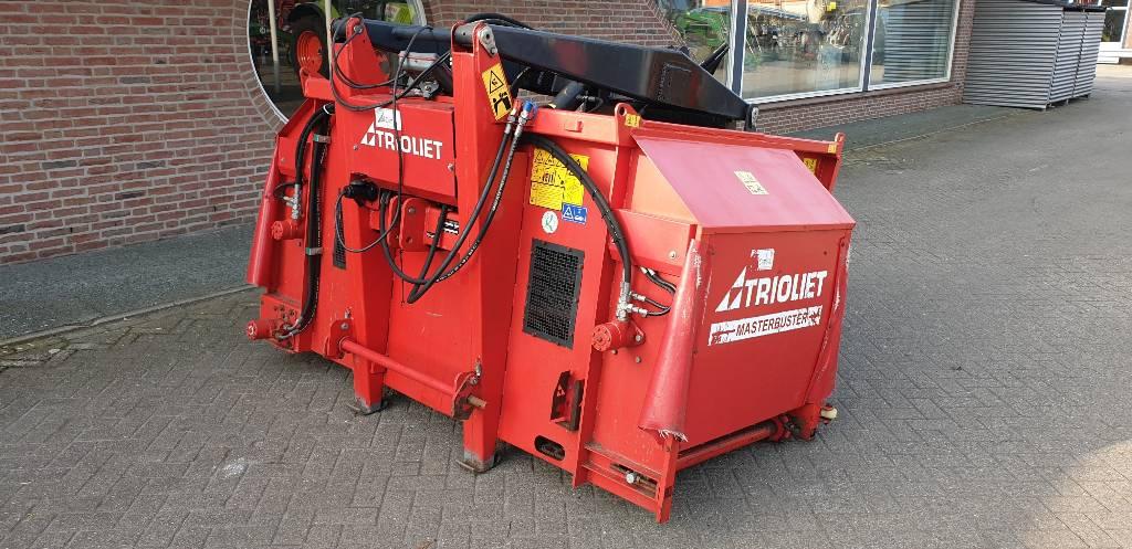 Trioliet Masterbuster, Silo Unloading Equipment, Agriculture